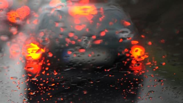 Beschlagene Scheibe im Auto