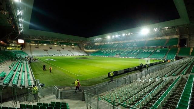 Das Stade Geoffroy-Guichard in St. Etienne.