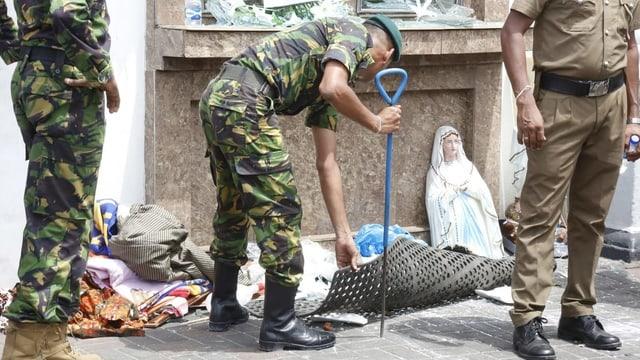 «Die Explosionen treffen Sri Lanka ganz unerwartet»