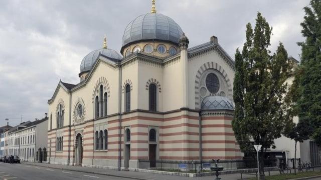 Die Synagoge in Basel