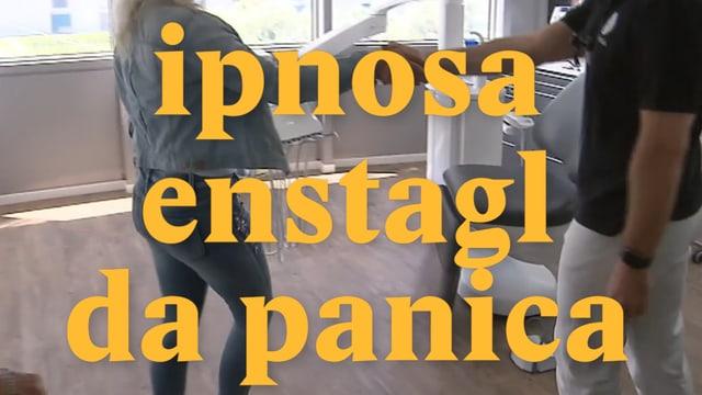 Laschar ir video «Ipnosa enstagl da panica»