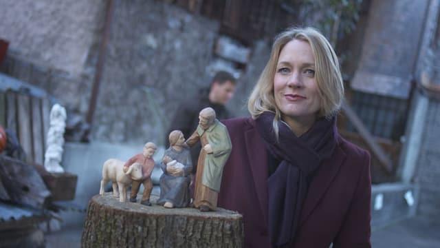 Video «Mit Eva Wannenmacher bei der Heiligen Familie in Brienz» abspielen