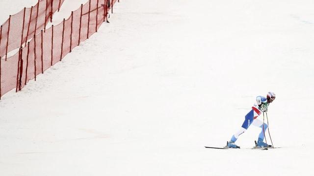 Didier Défagos Ausscheiden im 2. Lauf des Riesenslaloms war sinnbildlich für den Schweizer Auftritt.
