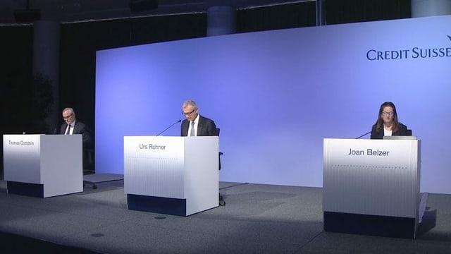 Screenshot der virtuellen CS-Generalversammlung