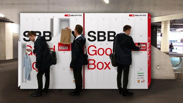 Die Good-box, ein neues Service-Angebot der SBB