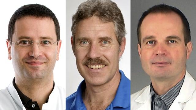 PD Dr. Jürgen Beck, Dr. Ralph Binggeli, Dr. Heiko Richter