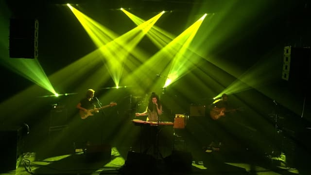 Ursina cun sia band sin tribuna al Eurosonic