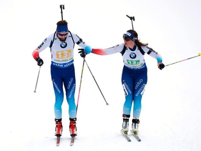 Benjamin Weger und Lena Häcki.