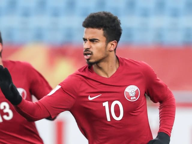 Der 21-jährige Akram Afif.