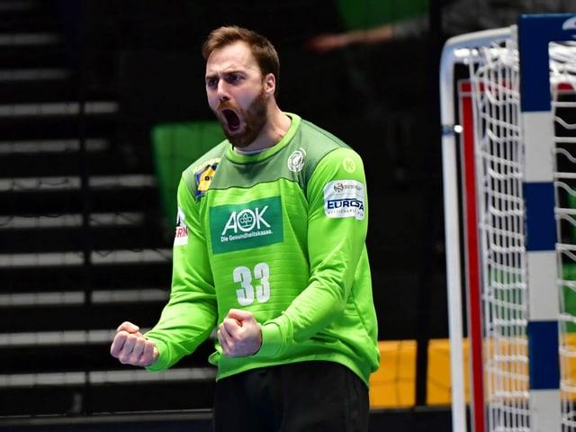 Der deutsche Goalie Andreas Wolff.
