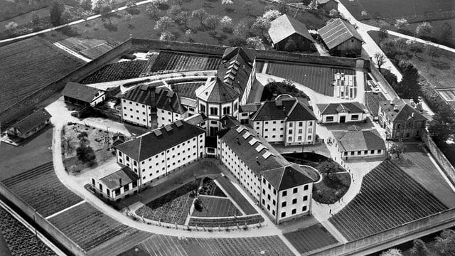 Die kantonale Haftanstalt in Lenzburg.