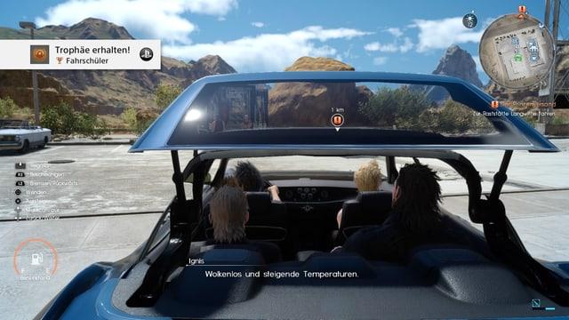 Regalia: Die Königliche Kutsche, ein Sportauto mit Selbstmördertüren.
