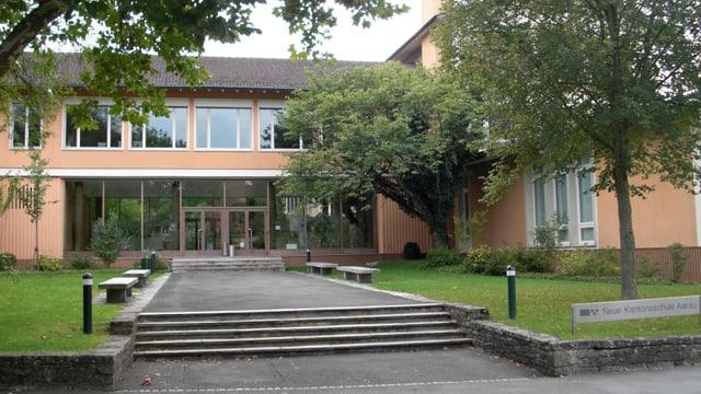 Altbau der Neuen Kantonsschule Aarau