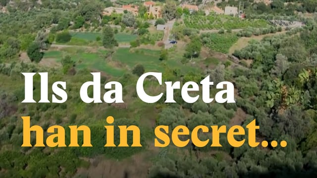Laschar ir video «Ils da Creta han in secret...»