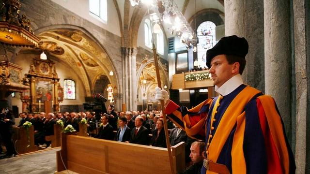 la catedrala da Cuira a l'inauguraziun suenter la renovaziun l'onn 2007.