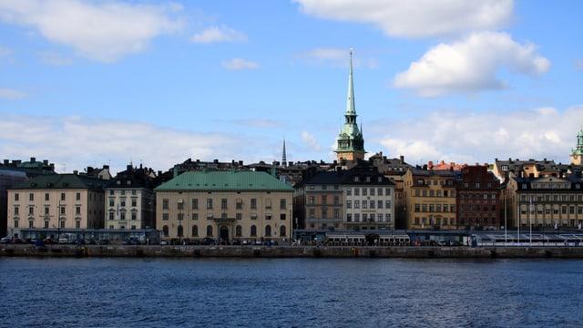 Blick auf die schwedische Hauptstadt.