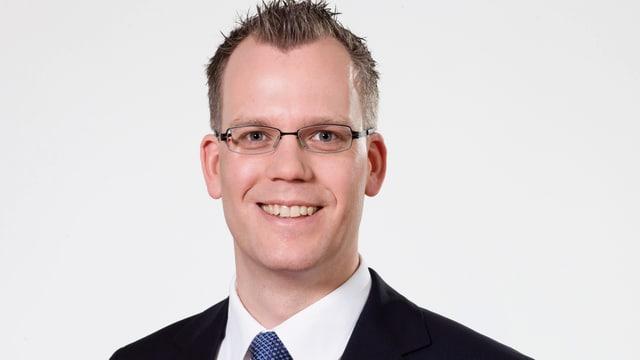 Portrait von SRF-Korrespondent Beat Soltermann.