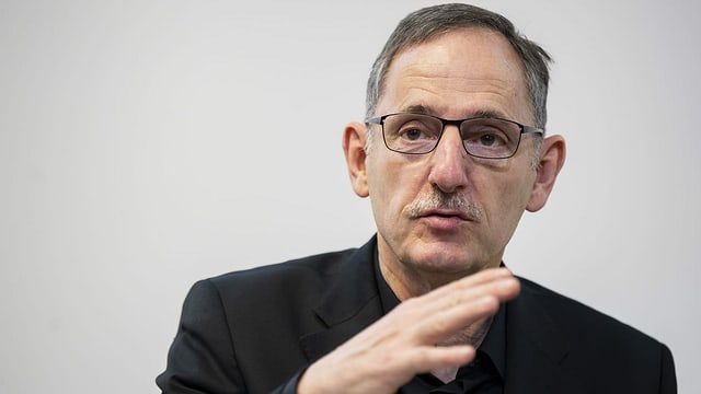 Portrait von Zürichs Sicherheitsdirektor Mario Fehr.