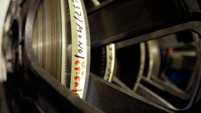 Aufnahme Filmspule
