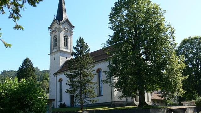 Die Kirche Kappel.