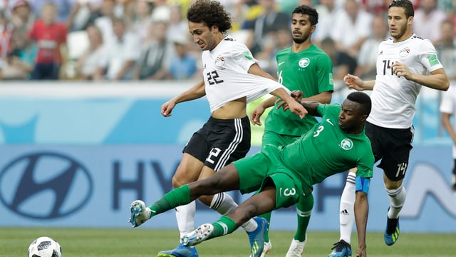 L'Arabia Saudita cunter l'Egipta.