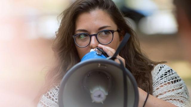 Tamara Funiciello: die Unerschrockene