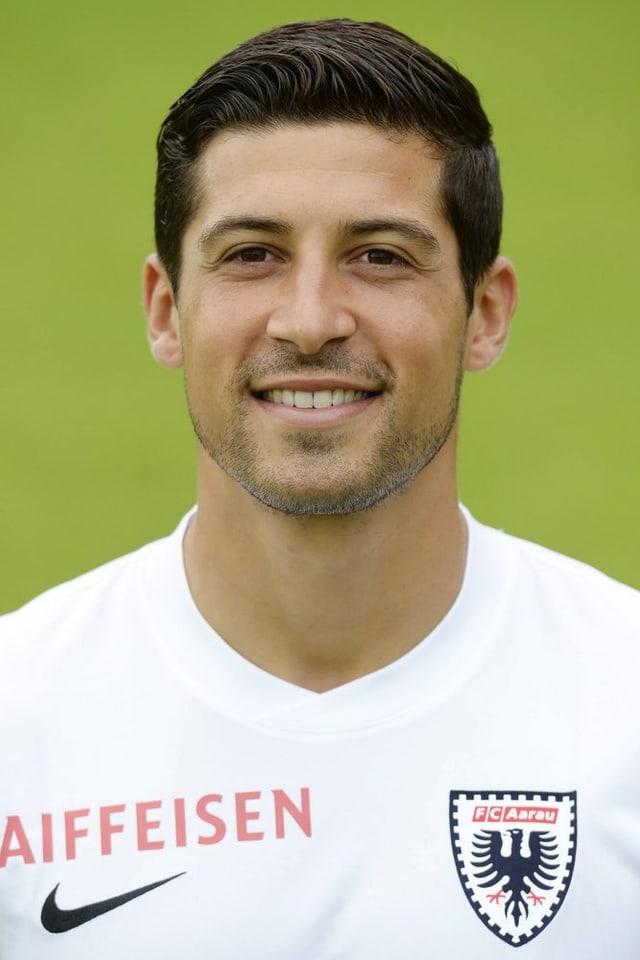Davide Callà war in der laufenden Saison der wichtigste Goalgetter für den FC Aarau. Nun wechselt er zum FC Basel.