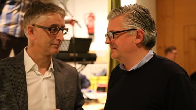 Duri Blumenthal e Rolf Traxler