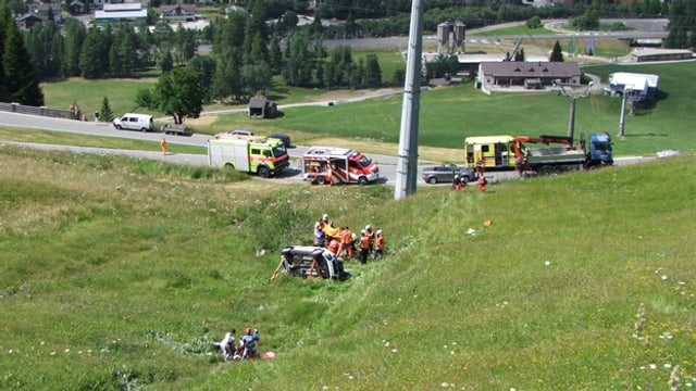 Accident da traffic curt suenter Spleia.