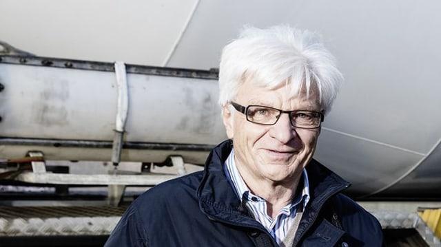 Walter Capatt, l'anteriur manader da fatschenta da la Kies SA Bonaduz.
