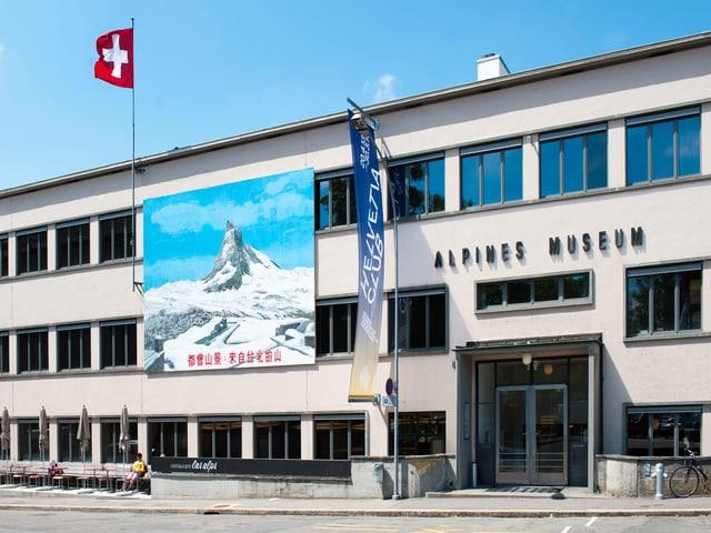 Das Alpine Museum von aussen.