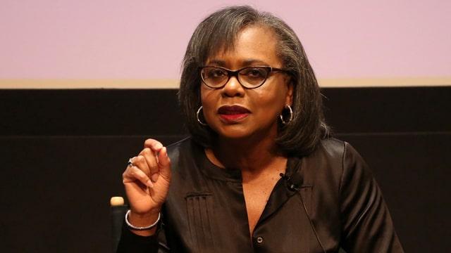 Die Juristin Anita Hill.