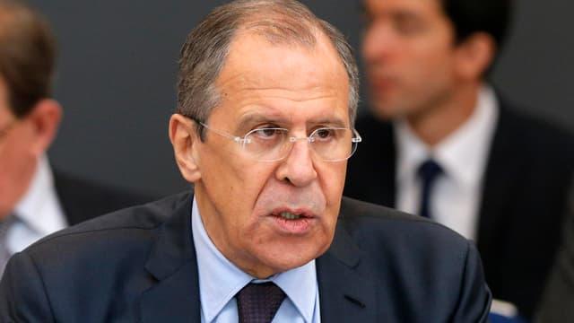 Der russische Aussenminister Lawrow.