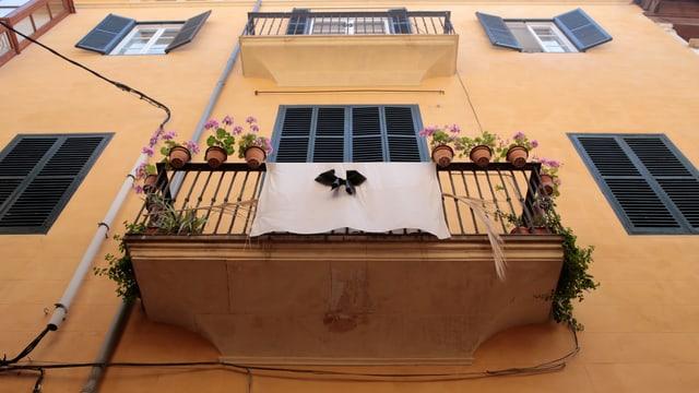 Balkon in der Altstadt von Palma