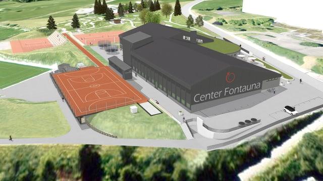 Visualisaziun Center Fontauna.