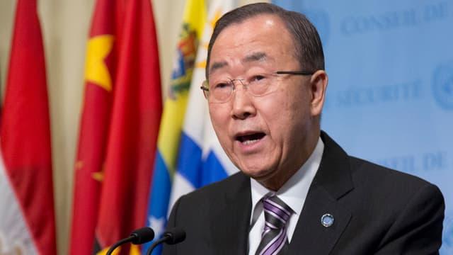 Il secretari general da l'ONU, Ban Ki Moon.
