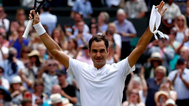 Roger Federer triumfescha.