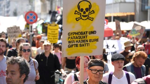 demonstrants a Basilea