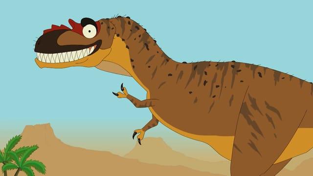 Video «Ralph und die Dinosaurier: Albertosaurus (1/26)» abspielen