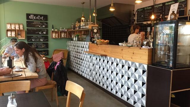 Entlang der Güterstrasse haben viele neue Läden oder auch Cafés aufgemacht wie das Finkmüller.
