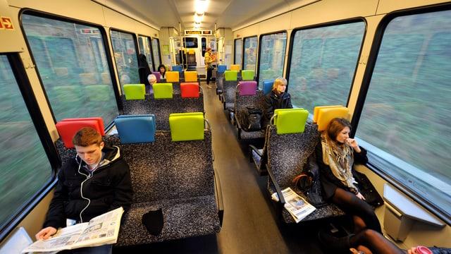 Endadens in tren dal Thurbo