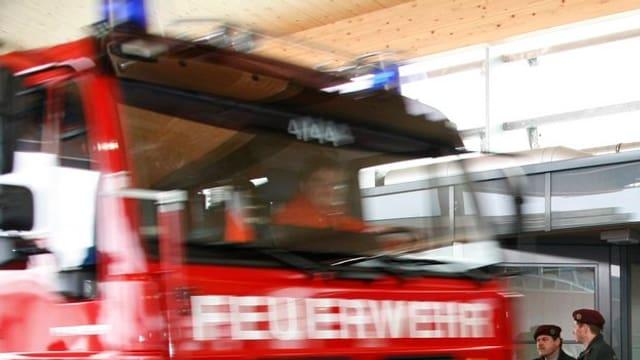 Symbolbild eines Feuerwehrautos
