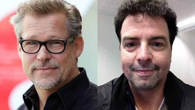 Portraitaufnahmen der beiden Experten