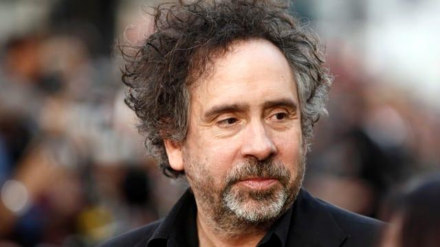 Auf dem Bild ist Tim Burton zu sehen.