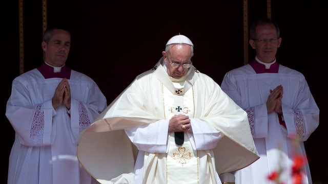 Papa Francestg hja declerà sontg 35 catolics a Roma.