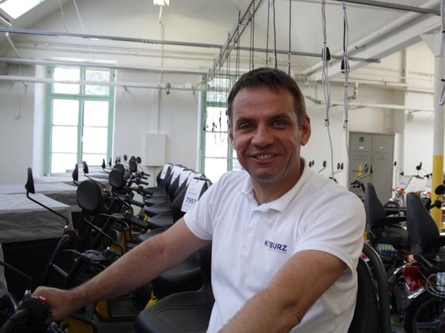Porträtaufnahme des Unternehmers Martin Kyburz