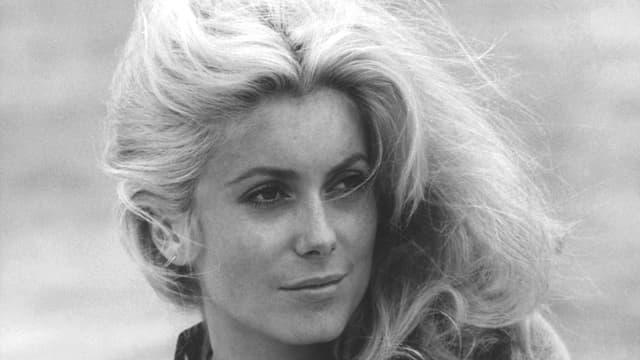 Catherine Deneuve beim Dreh des Films «La Chamade» 1968.