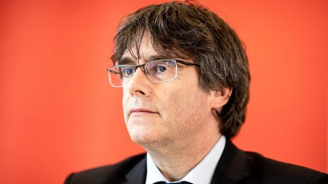 Portrait von Carles Puigdemont.