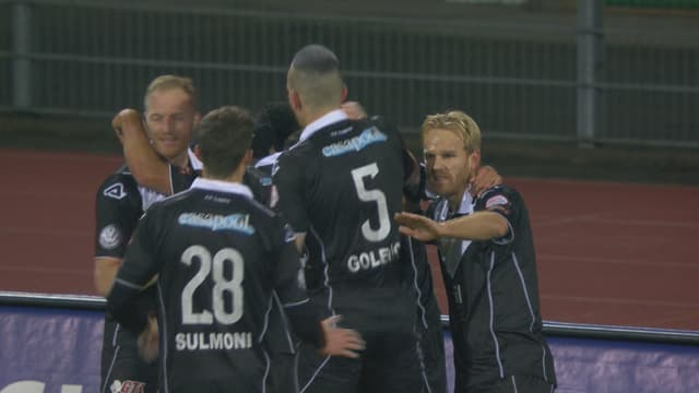 Lugano geht dank einem Treffer von Sabbatini in Front.