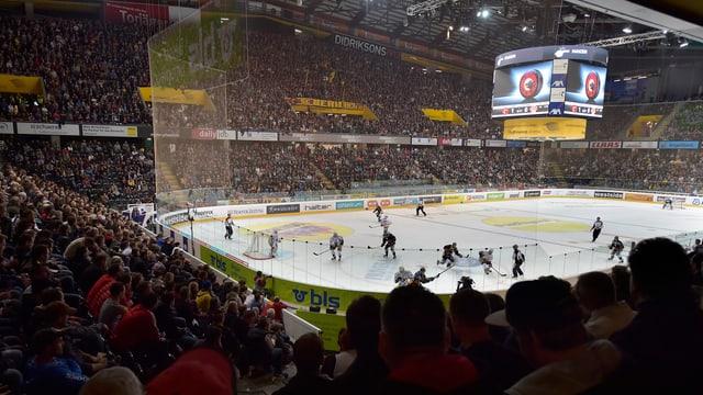 Blick in die Berner Arena